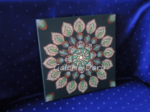 Mandala dot paiting