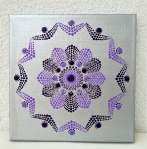 Mandala dot art